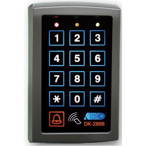APO DK-2866 - Employing Proxi Card & Pin-Code Readers